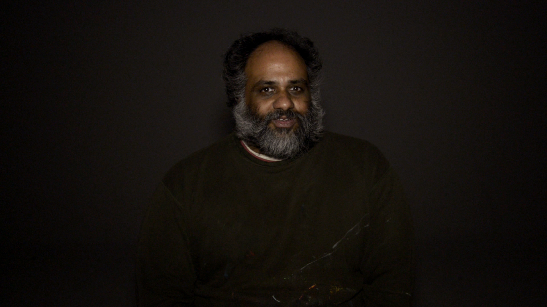 still from Charlie Brown / Our Town - Act III: Sree is The Stage Manager, Multimedia, 2013 -