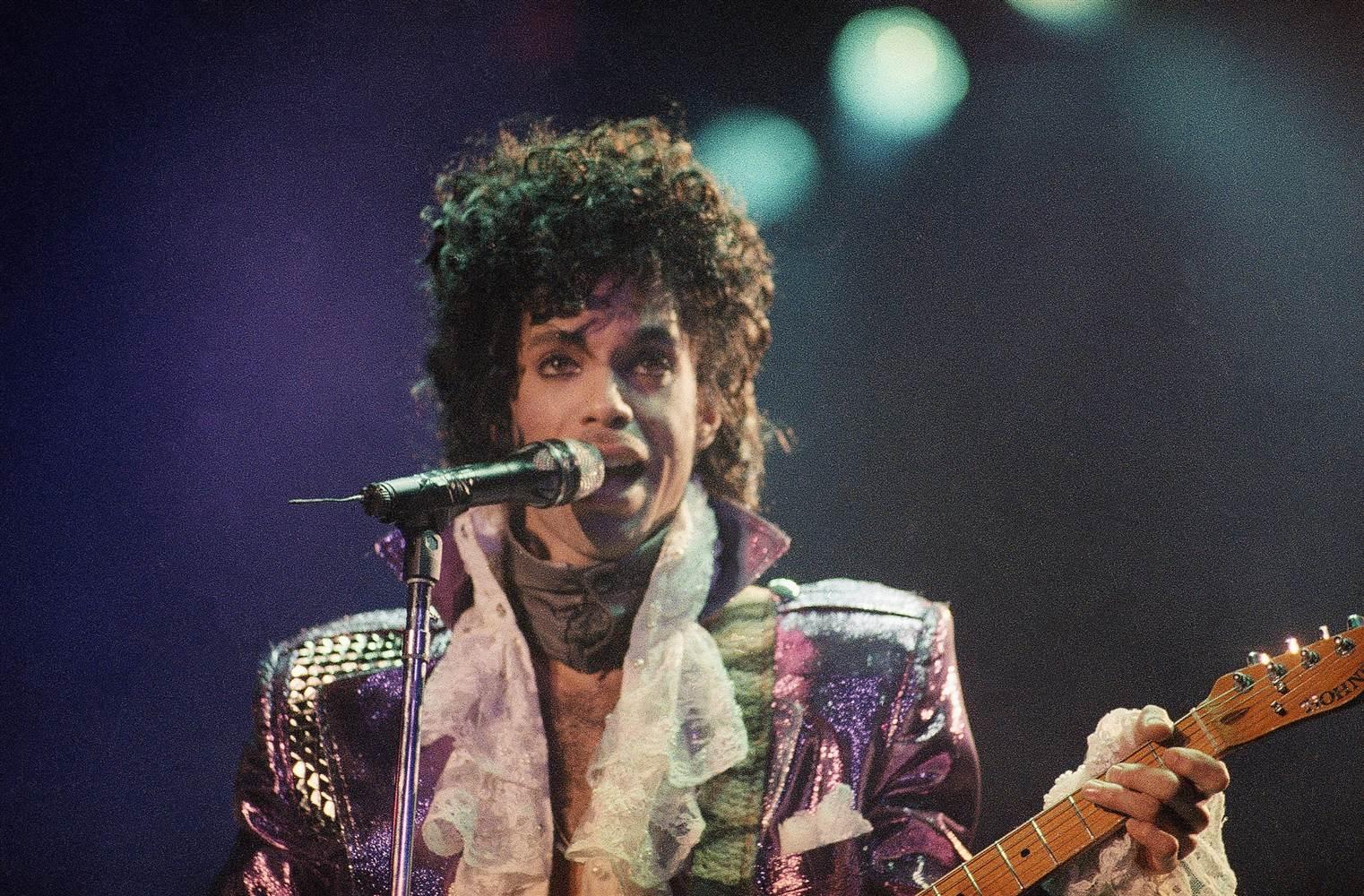 Prince, LA Forum, 18 February 1985, Liu Heung Shing/AP
