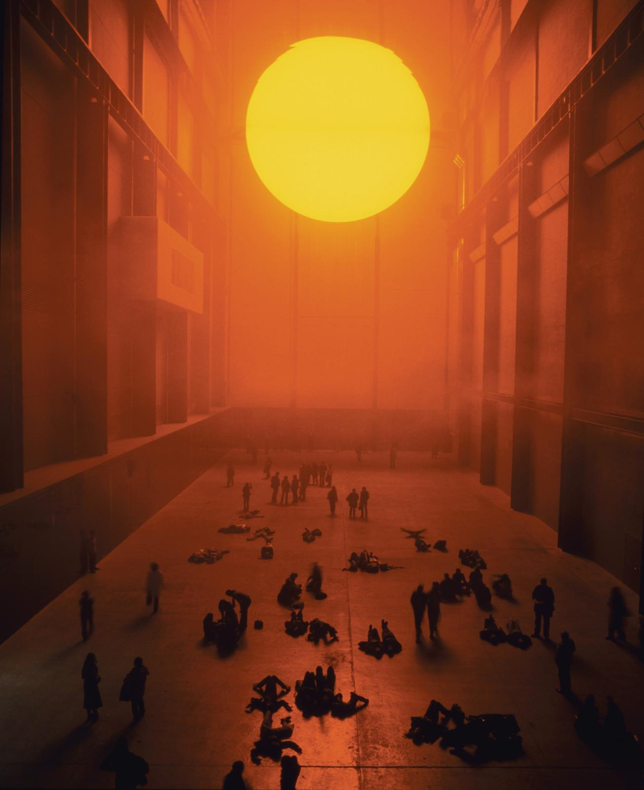 Olafur Eliasson, <em>The weather project</em>, Tate Modern, London, 2003