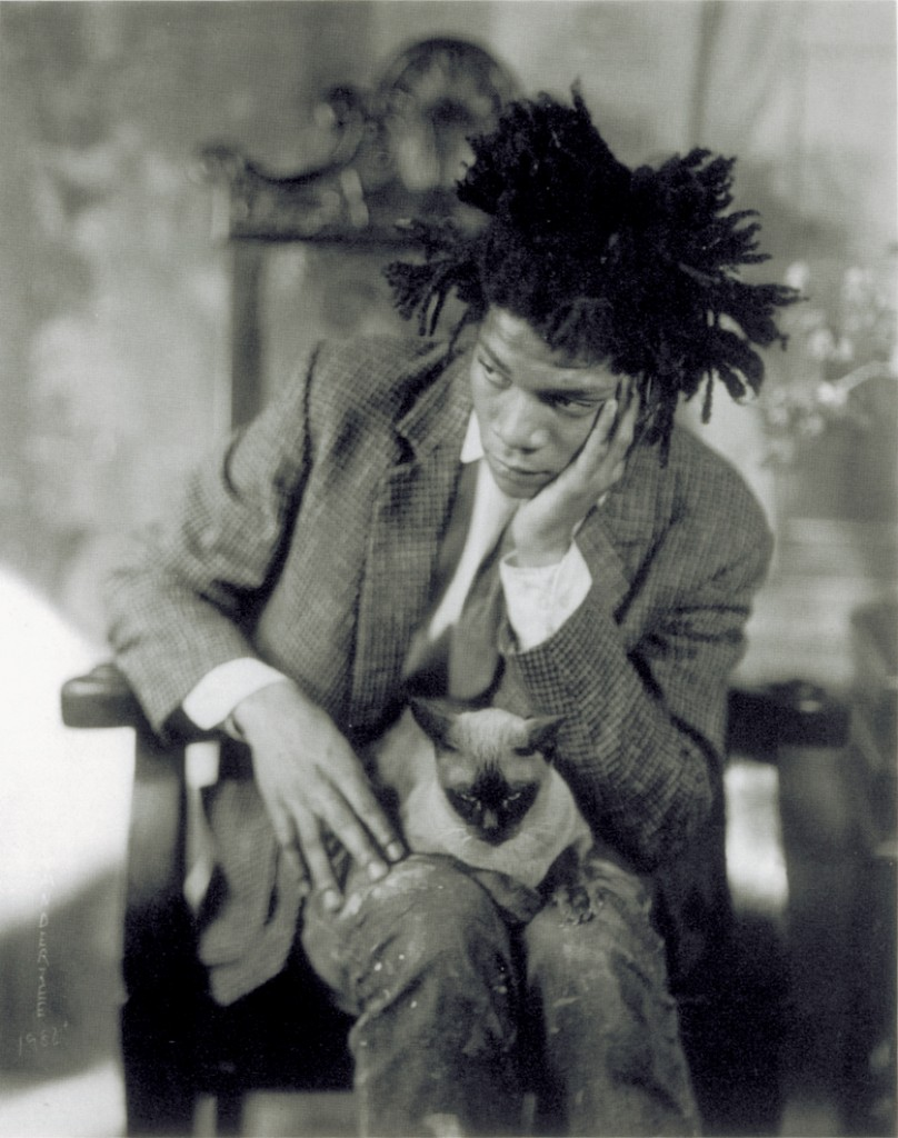 James VanDerZee, Portrait of Jean-Michel Basquiat, 1982