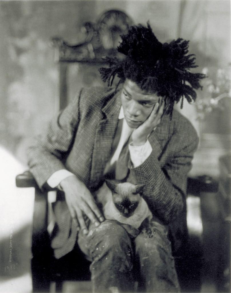 James VanDerZee, Portrait of Jean-Michel Basquiat, 1982