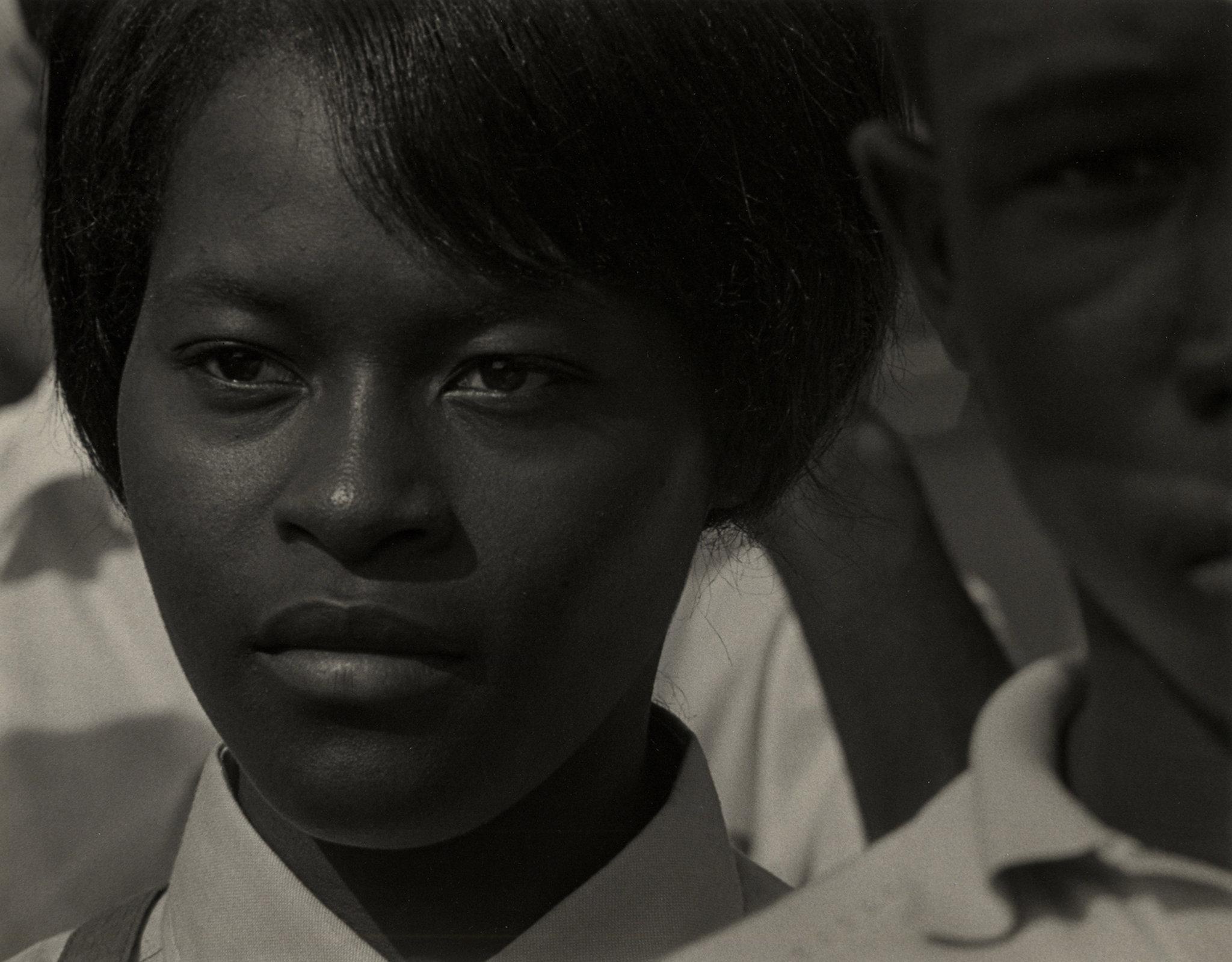 Roy DeCarava, Mississippi Freedom Marcher, Washington, D.C., 1963, Copyright: Sherry Turner DeCarava/RSD Foundation