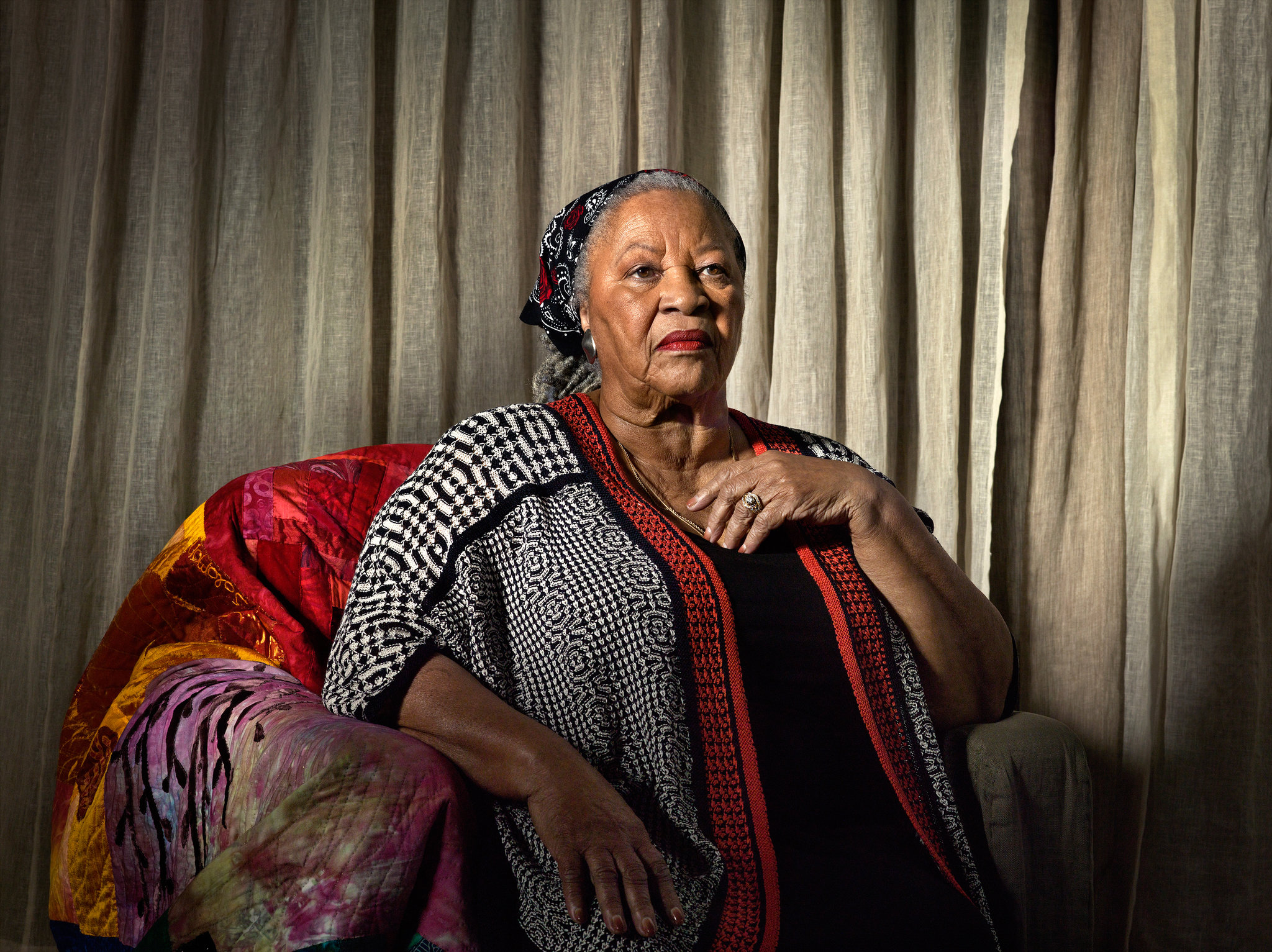Toni Morrison, 2015, Katy Grannan/NYTimes