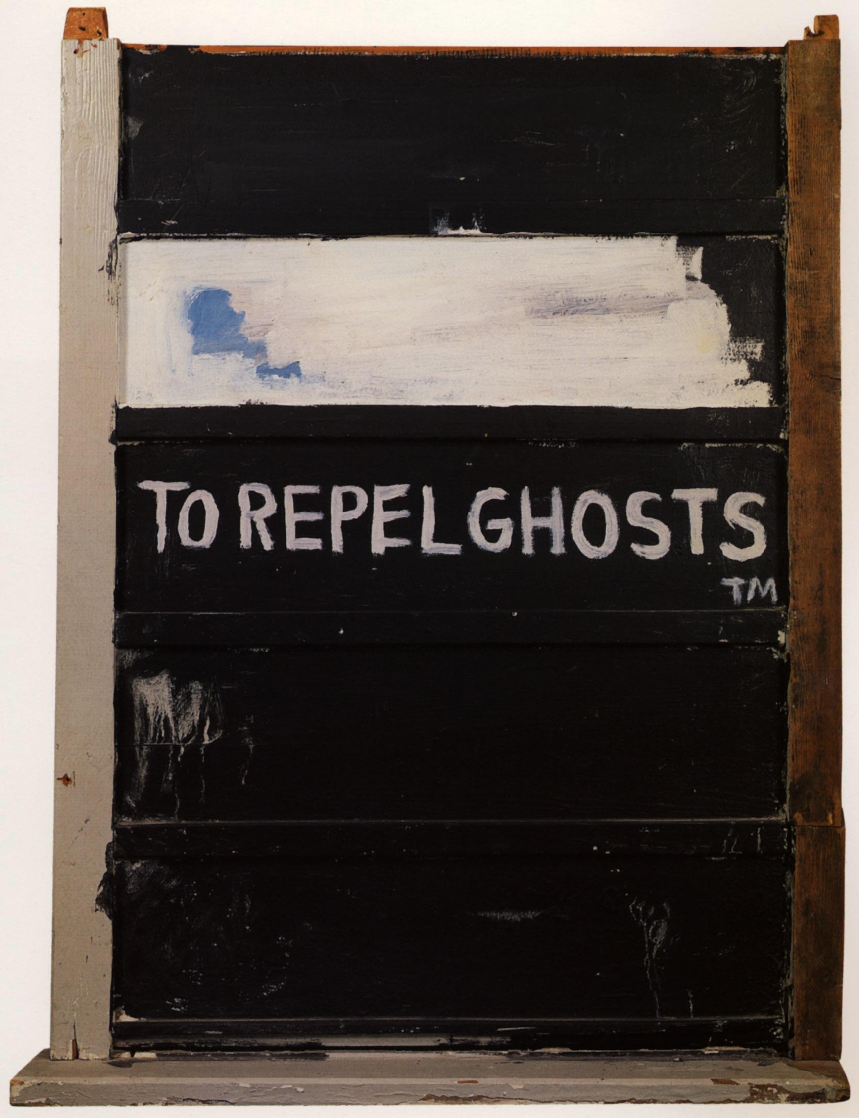 Jean-Michel Basquiat, To Repel Ghosts, 1986