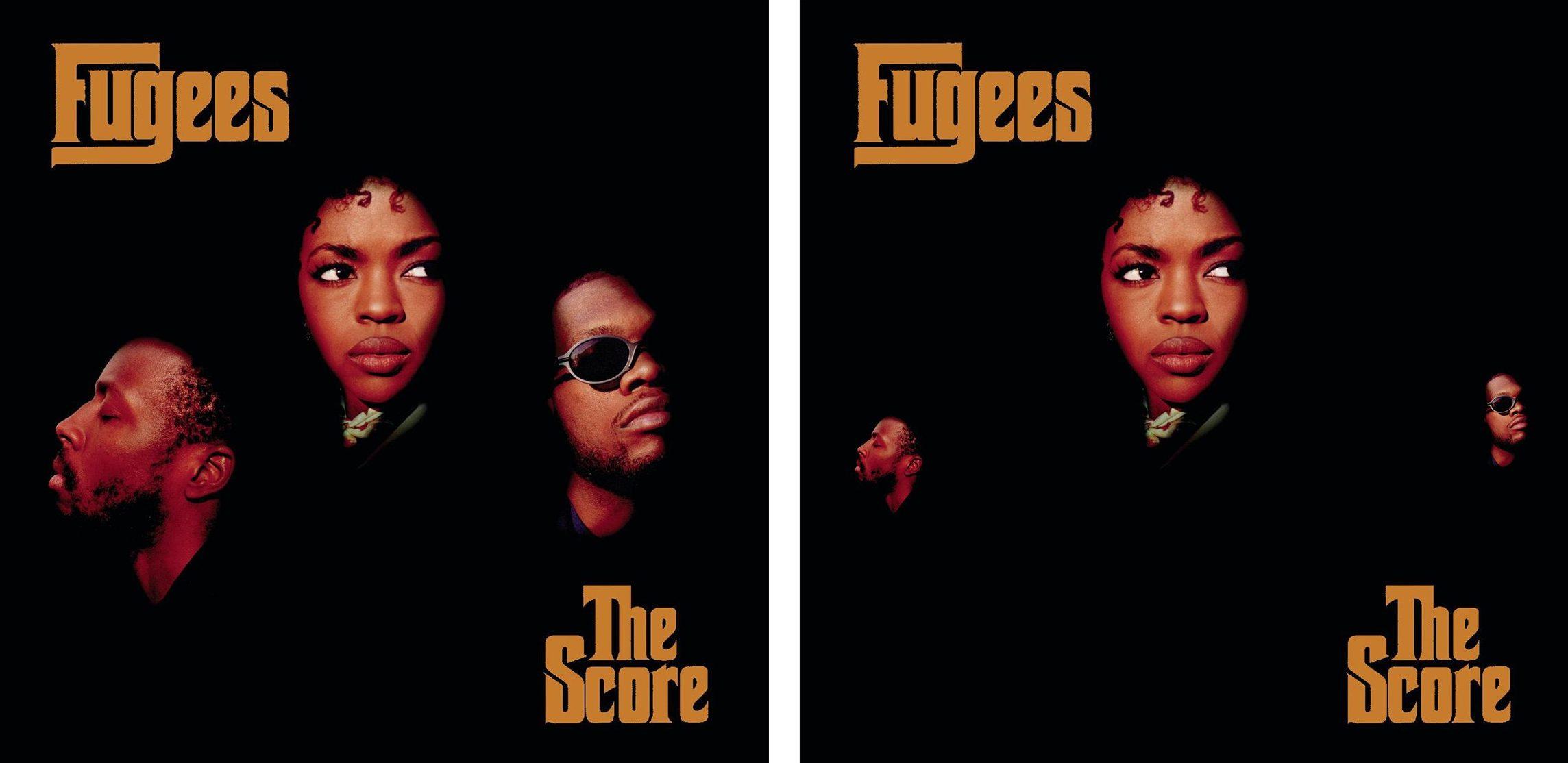 'Social distancing' hits classic album covers